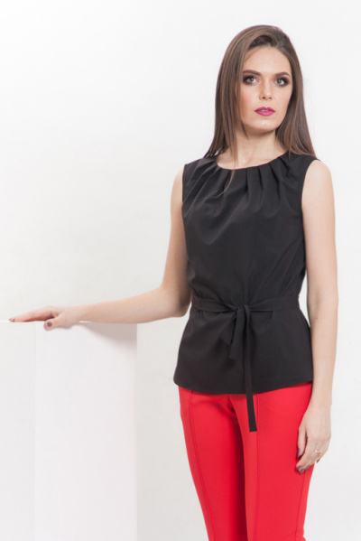 Блуза лёгкая без рукавов, Б-220/2