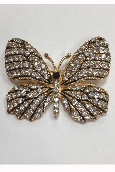 Брошь в виде бабочки, У-12